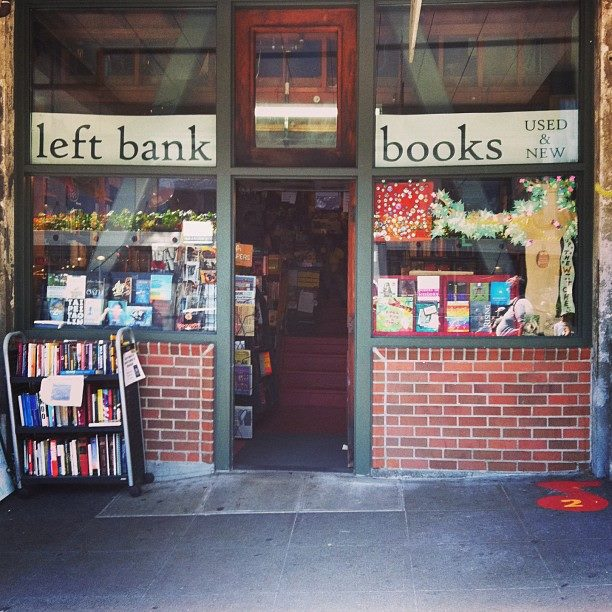 the left bank books storefront