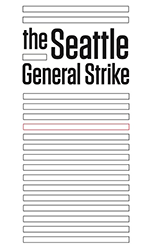 Seattle General Strike book cover