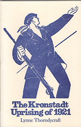The Kronstadt Uprising of 1921 by Lynne Thorndycraft book cover